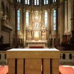 Алтарь церкви Матьяша