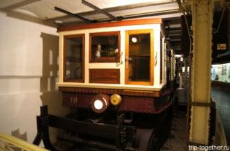 В музее метро в Будапеште