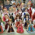Куклы в венгерских национальных костюмах