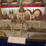 Будапештский парламент из марципана. Сентендре. Венгрия