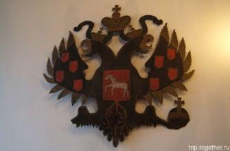 Двуглавый орел в самой старой аптеке Таллинна и всей Европы