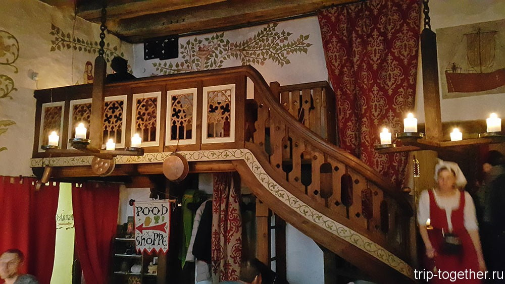 Самые средневековые рестораны Таллинна