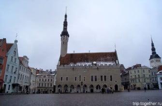Ратушная площадь Таллинна