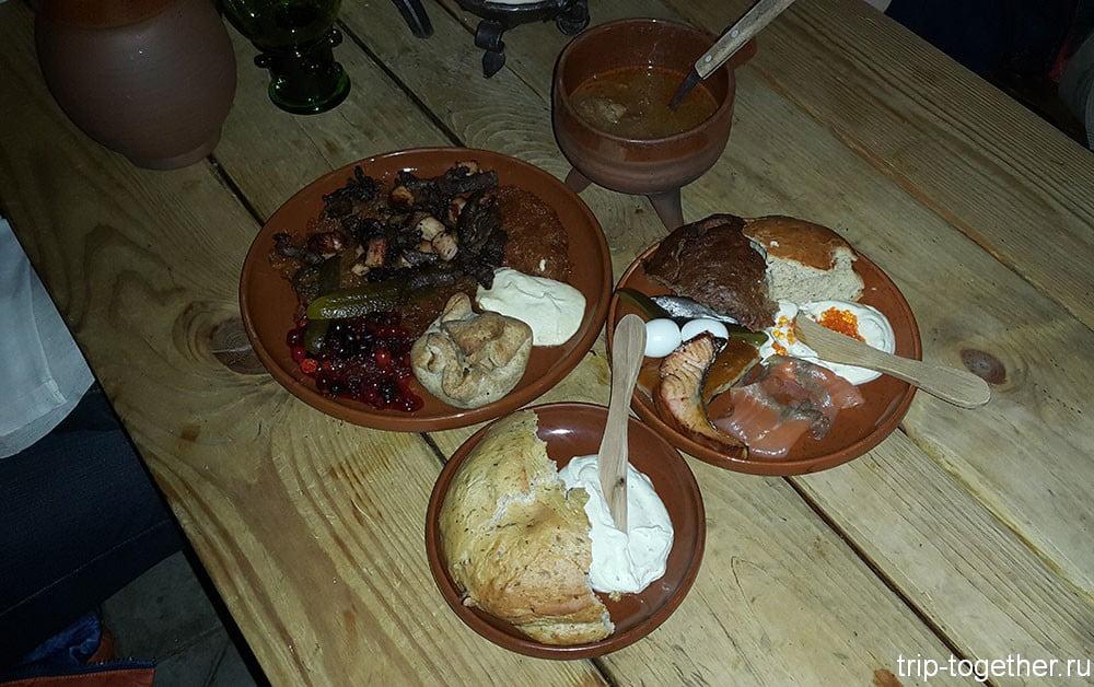 Незамысловатая средневековая еда