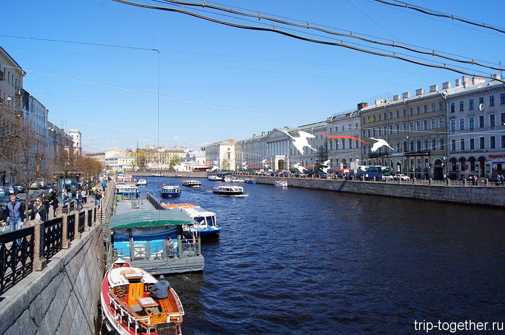 Прогулки по рекам и каналам Петербурга
