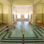 Лечебный бассейн в купальне Лукач