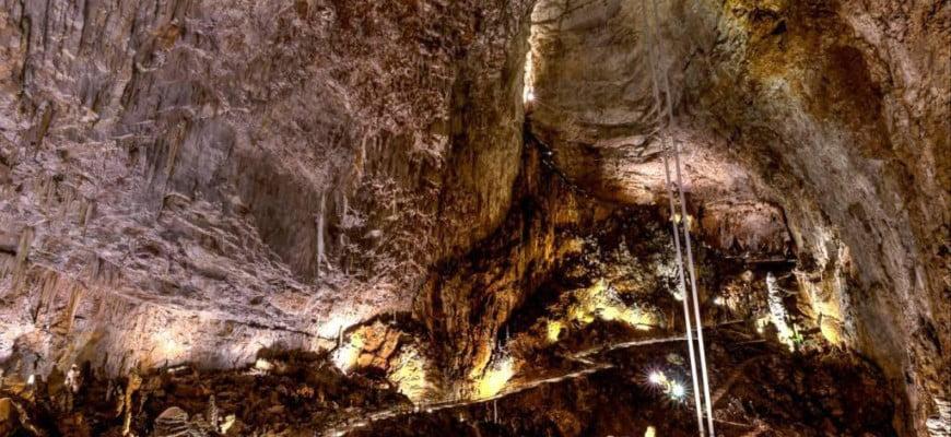 Гигантская пещера в окрестностях Триеста