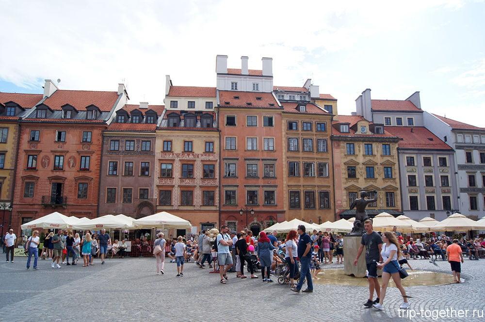 Достопримечательности Варшавы за один день