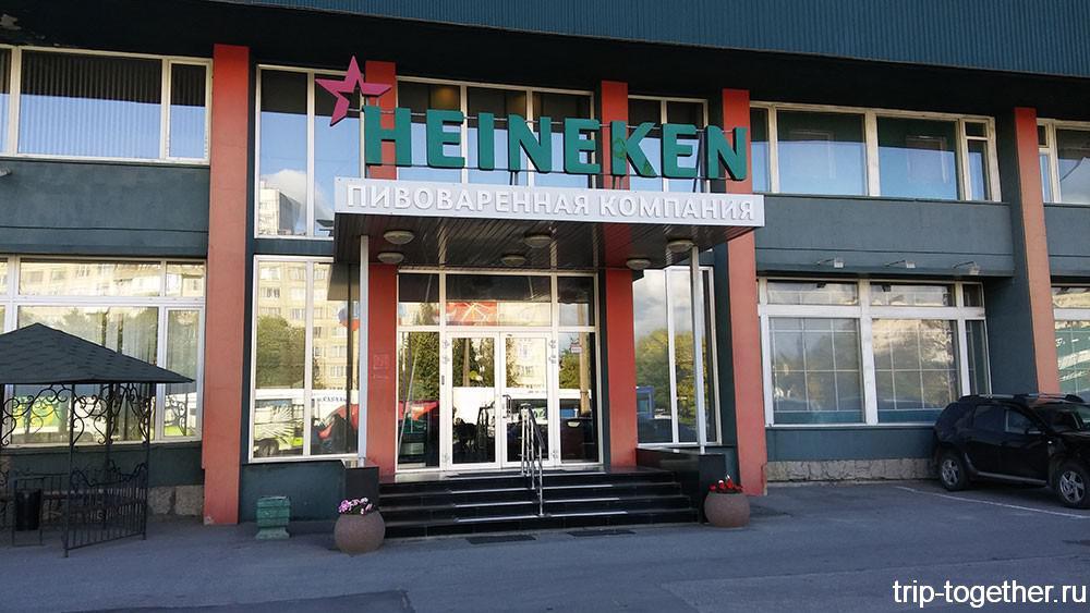 Как варят пиво на заводе Heineken в Санкт-Петербурге
