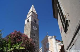 Церковь Святого Мавра. Изола, Словения.
