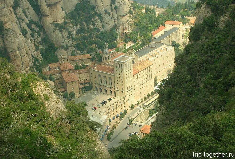 Путеводитель по Барселоне - монастырь Монсеррат