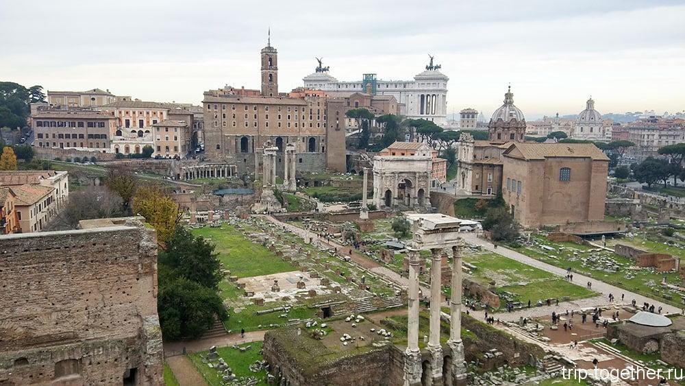 Отчет о поездке в Рим на неделю