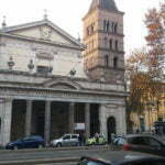 Церковь Сан-Кризогоно на виа ди Трастевере