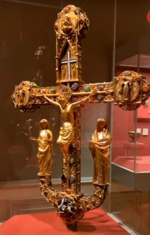 Фрайбургский крест, лицевая сторона