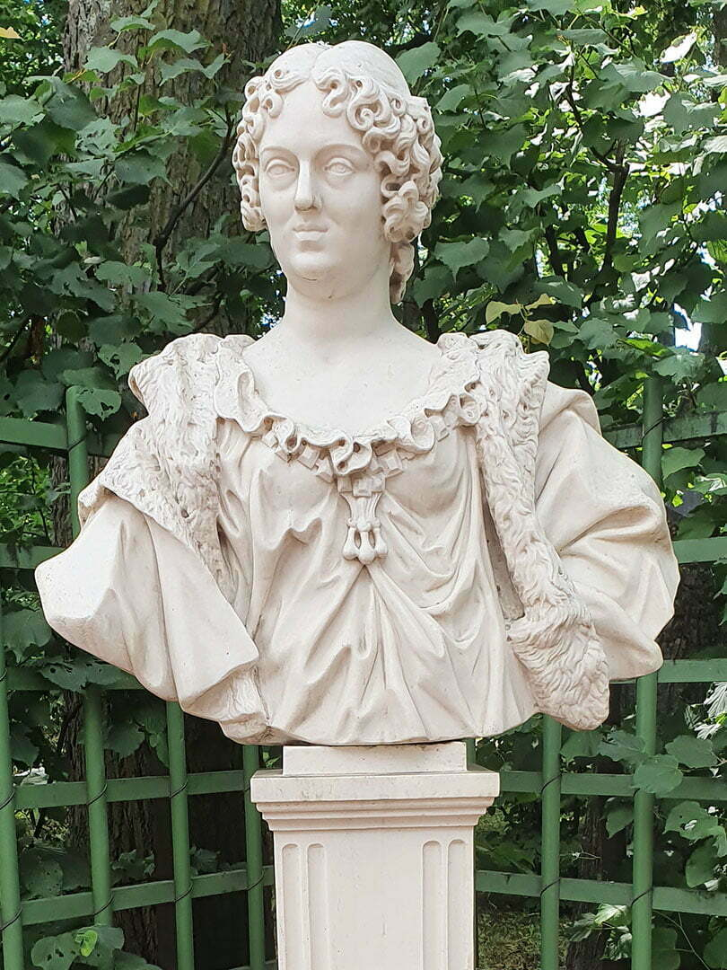 Мария-Казимира, жена Яна Собеского неизв. скульптор Польша, конец XVII в.