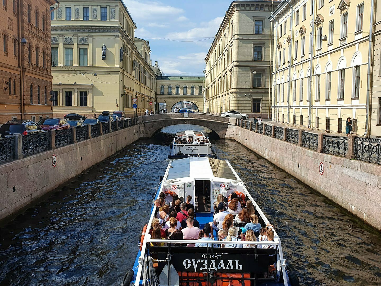 Зимняя канавка в Санкт-Петербурге