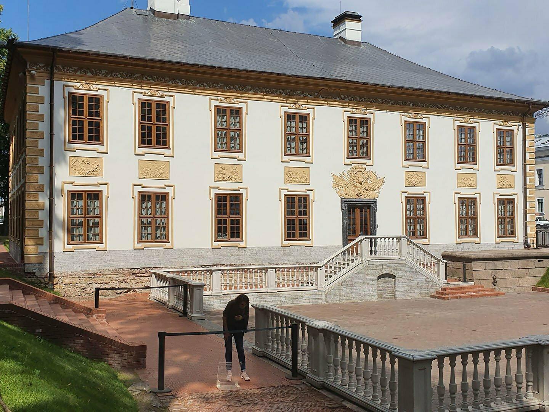 Летний дворец Петра I после реставрации