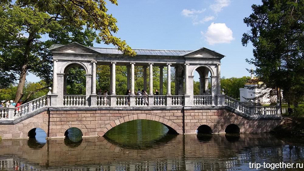 Мраморный мост, архитектор А. Палладио, 1774 год