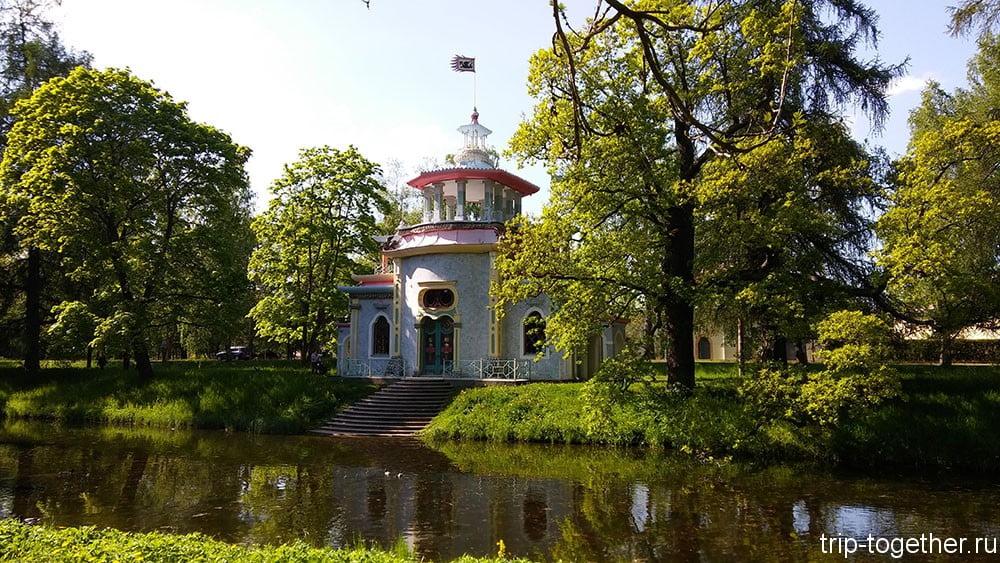 Скрипучая беседка, архитектор Ю.Фельтен, 1778-1786 годы