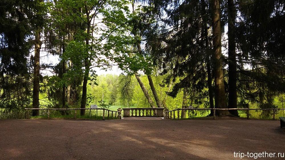 Парк в Павловске