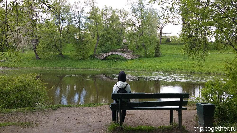 Павловск, парк, Санкт-Петербург