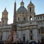 Площадь Навоны в Риме