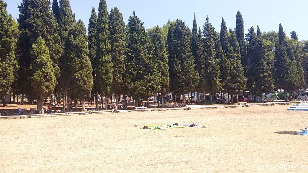 Camp Pineta, Fazana