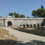 Вход в крепость и музей