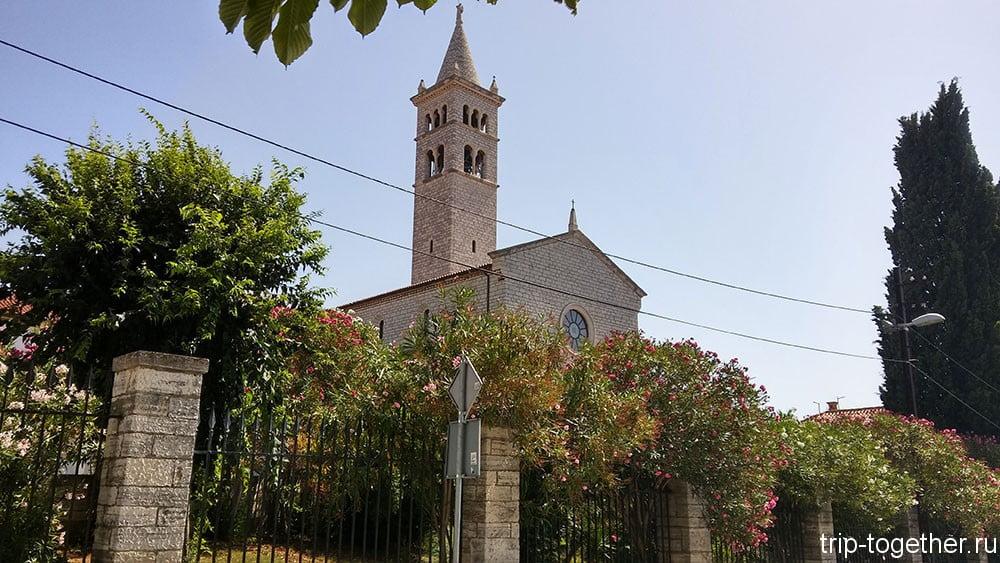 Пула. Церковь Святого Антония Падуанского