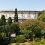 Арена Пулы со стороны холма
