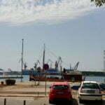 Порт Пулы с набережной