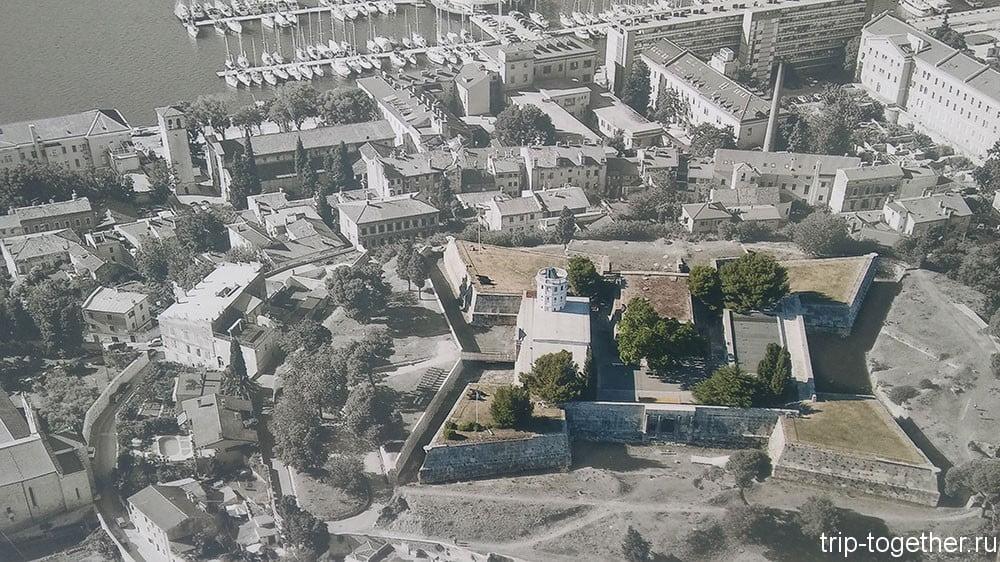 Каштел - крепость Пулы
