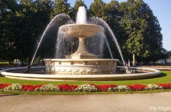 Саксонский сад в Варшаве, история и современность