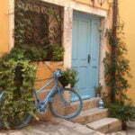 Велосипед на улице Ровиня