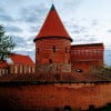 Каунас, замок на берегу рек