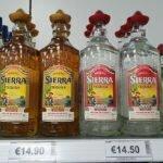 Текила - 14,90 евро за литр