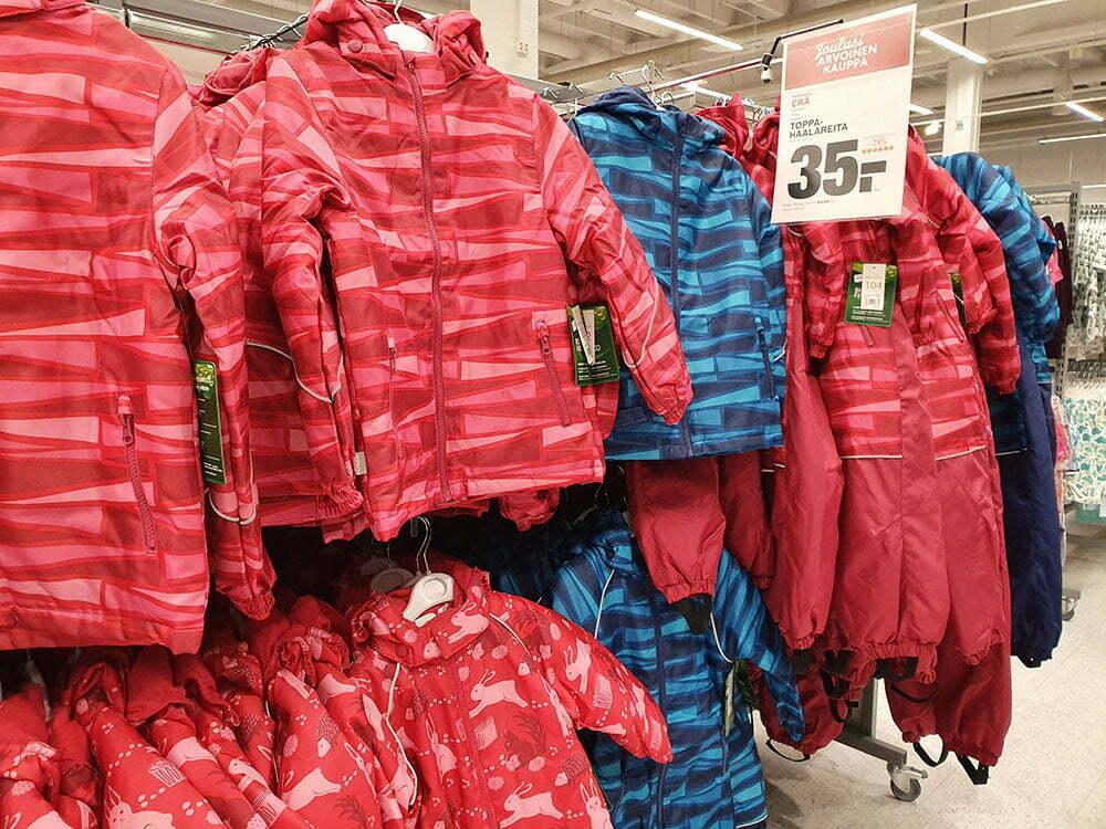 Распродажа детских комбинезонов и курток Reima для маленьких детей