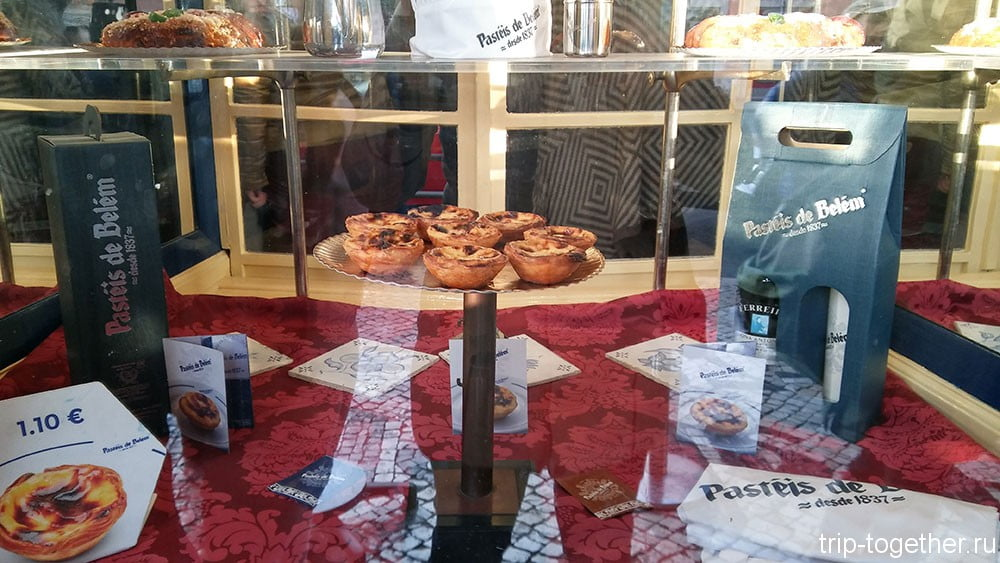 Пирожные Паштел де Белем