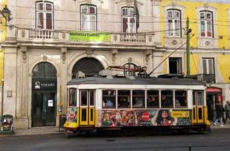 28 трамвай в Лиссабоне, маршрут, фотографии, стоимость проезда