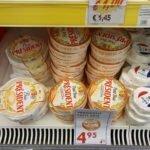 Сыр Президент - 4,95 евро 500 гр