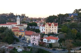 Синтра - очаровательный пригород Лиссабона