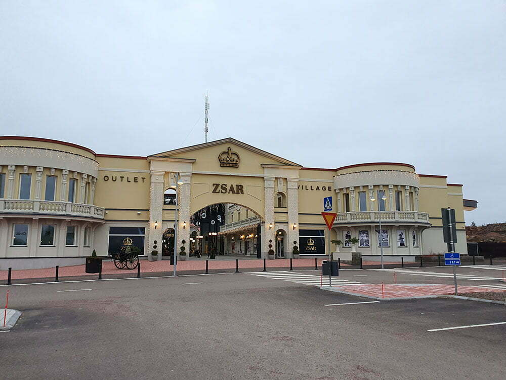 Zsar Outlet Village, рядом с Торфяновкой