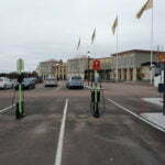 Станция зарядки для электроавтомобилей