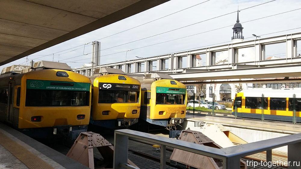 Общественный транспорт в Лиссабоне