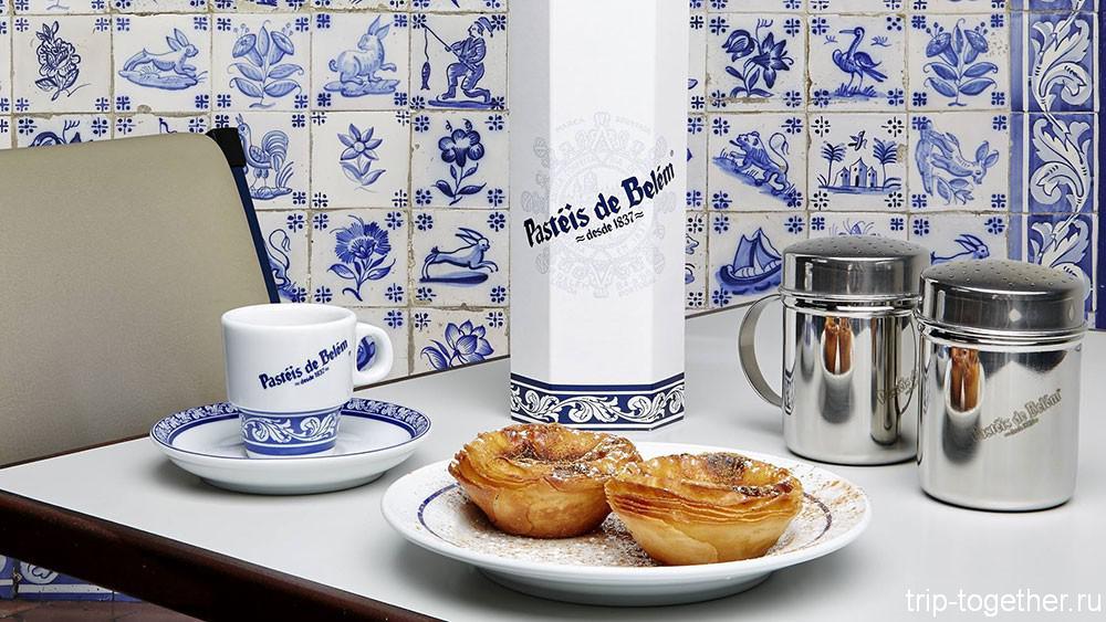 Пирожные паштейш де Белем