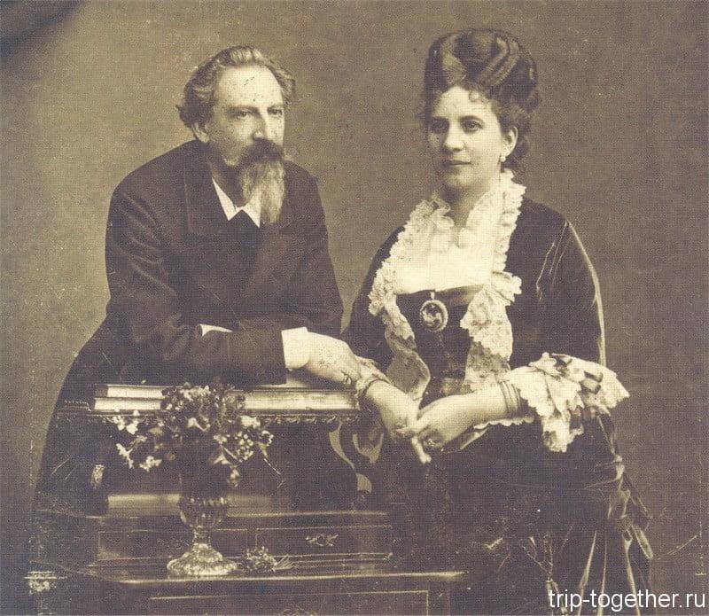 Дворец Пена, Фердинанд и Элиза, муж и жена