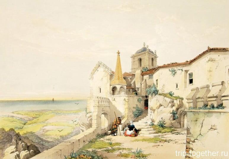 Монастырь Пена, историческая картина