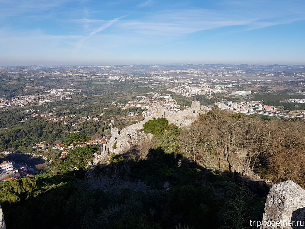 Замок мавров в Синтре. Португалия