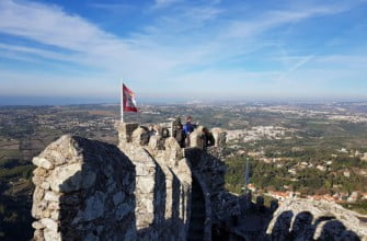 Замок мавров в Синтре, Португалия