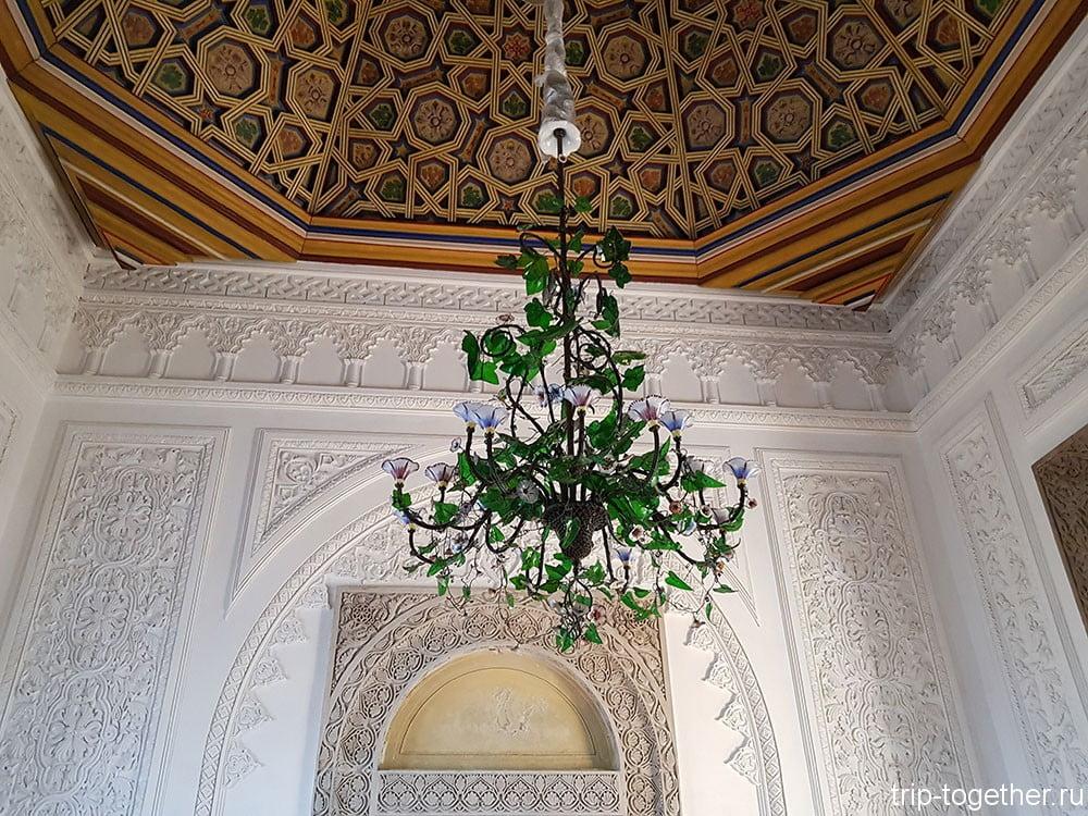 Дворец Пена, мавританские мотивы в отделке